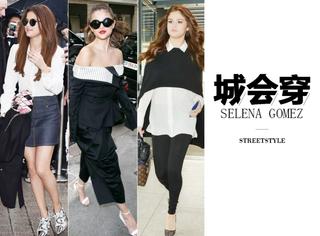 Selena Gomez:拥有自信和好衣品,脸大微胖都不是事儿!