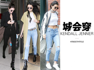 "Kendall Jenner的气场""鼓风机"",全靠这长外套助力!"