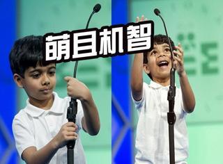 全美拼字大赛再次来袭,6岁小正太激萌受宠!