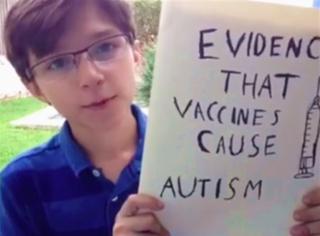 What!12岁的他搞了一份关于疫苗的秘密报告