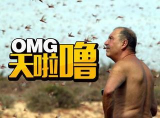 战斗民族这次遇到蝗虫终于怂了,网友:炸来吃就好了!