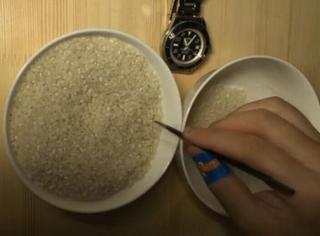 逼死密集恐惧症,一碗米饭里有多少粒大米,他们替你数清楚!