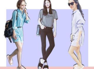 刘雯、袁姗姗、孙菲菲都爱它,穿上日日姐的毛毛拖鞋更快乐哦!