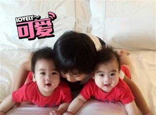 半年不见,林志颖的双胞胎儿子就这么大了?而且一点都不像!