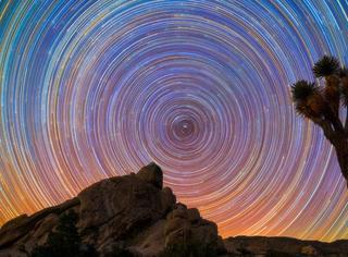 原来梵高星空里的画面是真实存在的