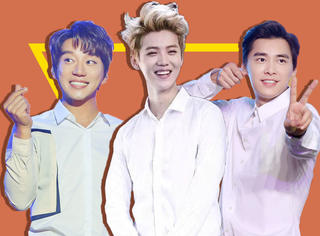 用白衬衫检验鹿晗、吴亦凡、TFBOYS...的颜值,发现他们好撩人!