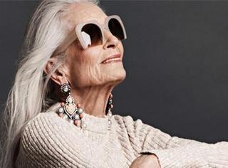 最大年龄模特,她是世界上活得最赚的女人!
