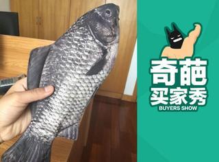 【奇葩买家秀】一个生猛的鱼笔袋,仿佛闻到了腥味