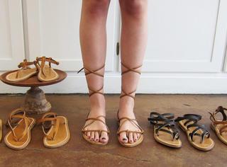 集齐这五双凉鞋,才能愉快地撩汉