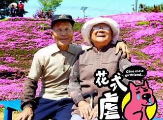 虐哭!一位日本老人为鼓励失明的妻子活下去种了一大片花海!