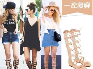 【一衣多穿】罗马鞋和绑带鞋真的有点区别!