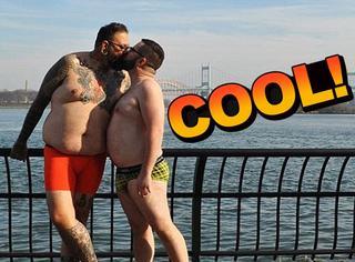 这个摄影师拍了一群胖子,号召去欣赏肥胖美