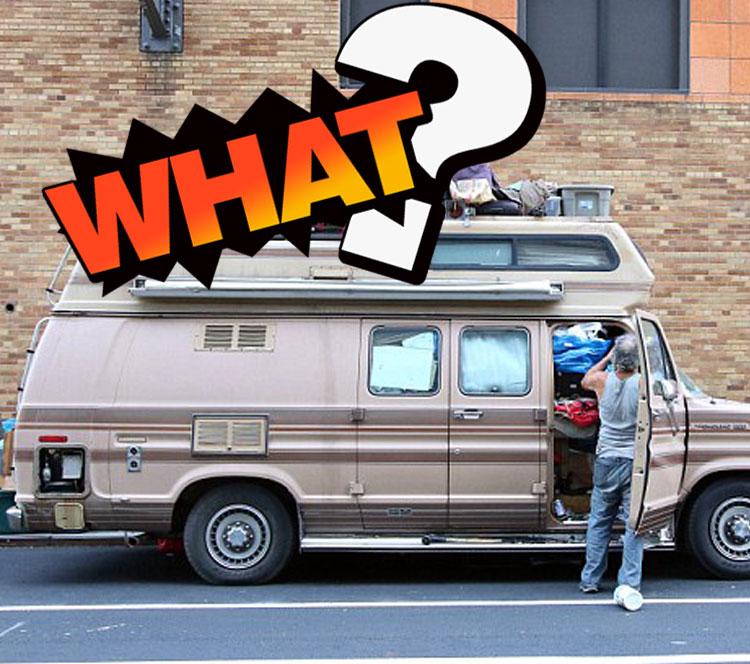 美国男子15年不租房,生活在一辆卡车里