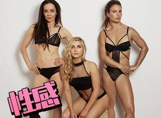 英国女运动员拍性感大片,号召女孩健身