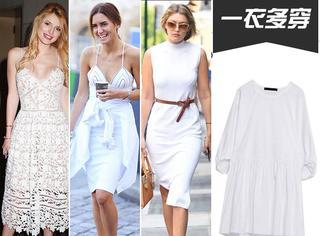 【一衣多穿】当我们在穿一身白裙的时候都配什么鞋?