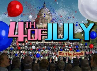 7月4号,属于美国人民的独立日