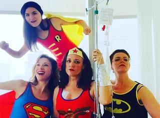 她患上癌症,却把化疗玩成了欢乐的cosplay趴