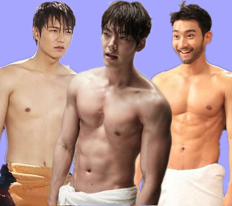 韩剧欧巴一言不合就洗澡,有颜还不够必要湿身才过瘾_橘子娱乐