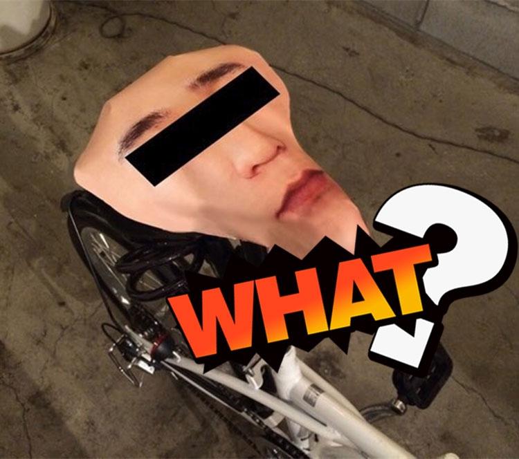 因为自行车屡次被偷,他把车座改成了这样