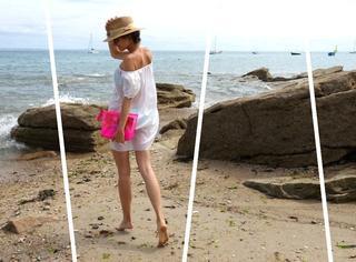 去海边浪,也要比别人时髦