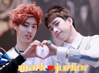 【表情包】mark&junior宜珍cp最最最甜蜜