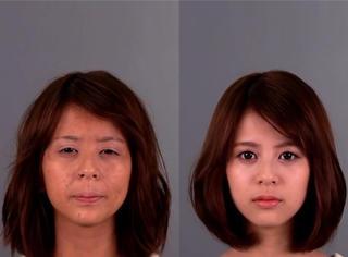 一个日本女孩分别在素颜和化妆后找男生借钱,结果竟然?