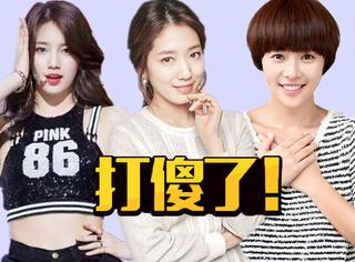 怪不得韩剧女主都这么傻,原来都是被打出来的!