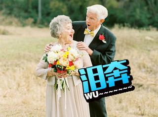 祖父祖母的婚纱照走红,背后却还有个感人的故事