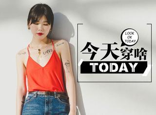【今天穿啥】纹身贴?金属风?听说有个性的女孩更受欢迎哦!