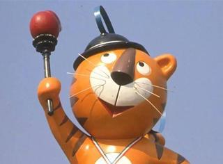 这位朋友,你确定你是奥运吉祥物吗?
