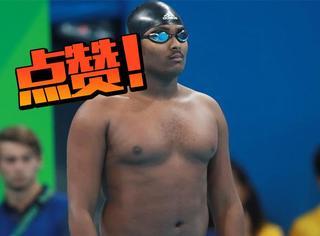 那位被嘲笑的啤酒肚游泳小哥,原来是因为这个长胖的