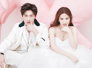【时装片】刘亦菲这个新娘个性爆棚,杨洋你怎么看?