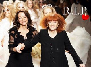 设计师Sonia Rykiel离世,时尚圈少了位红发女巫,也少了位永葆童真的老姑娘
