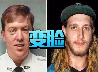 现实版变脸,美国消防员毁容15年后重新做人