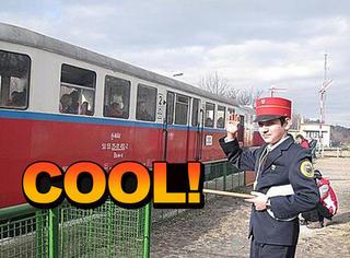 布达佩斯小孩列车:整条铁路都被10岁孩子承包了!