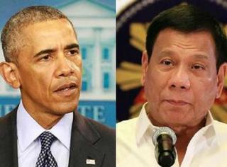菲律宾总统又作妖,大骂奥巴马son of a bitch