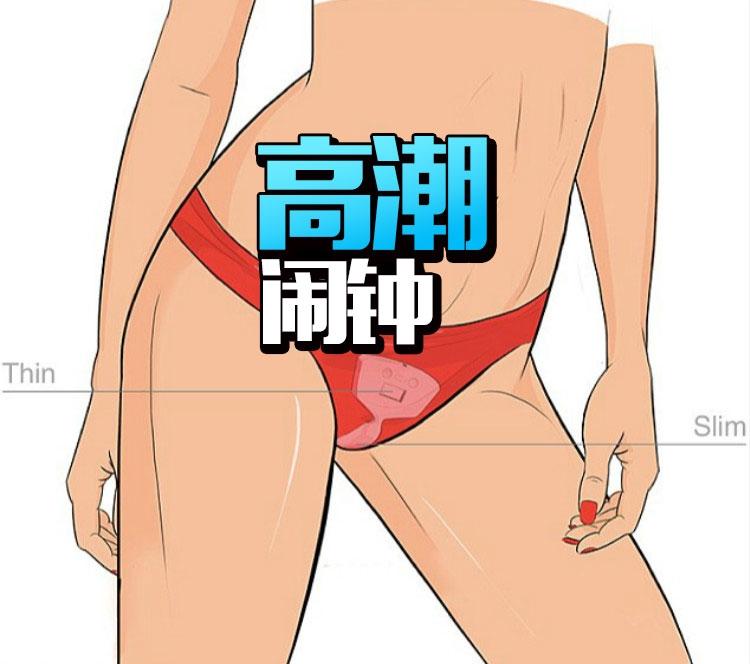 这应该是第一款放在内裤里的闹钟,每天被高潮醒