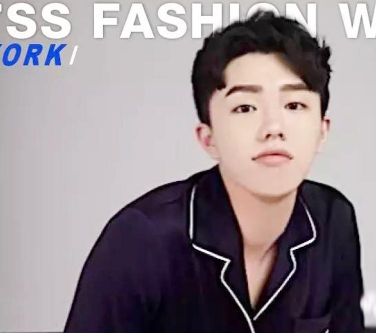 他真的不是刘昊然,他是纽约时装周年龄最小设计师!