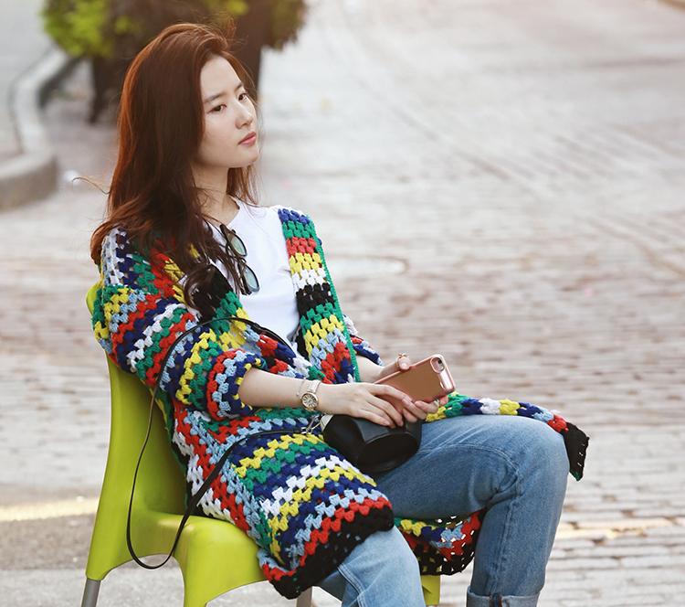 像刘亦菲这样穿,美爆一整个秋天!
