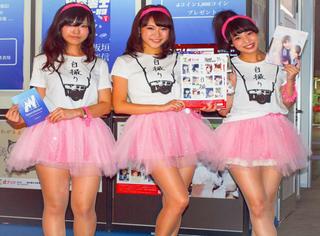 TGS美人集,东京电玩展除了看游戏就是要看showgirls啊……