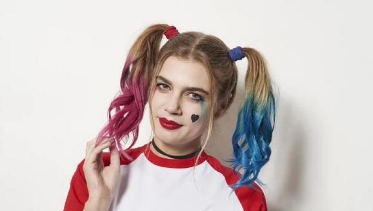 三分钟cos小丑女Harley Quinn心机发型,你学or不学?