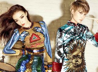 【时装片】李宇春&倪妮的摩登搭档,看来是要给满分了!