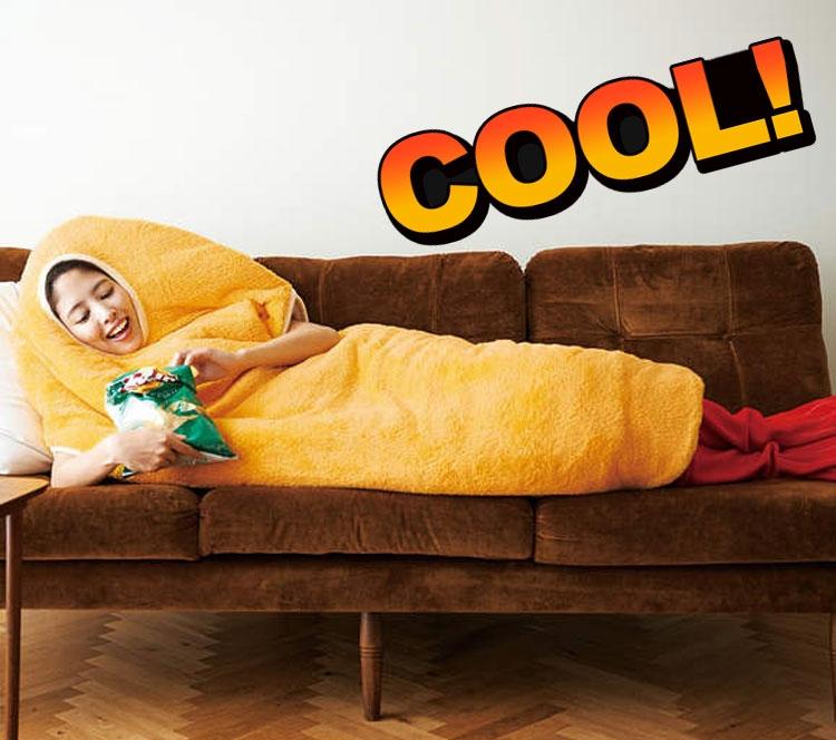 日本推出炸虾睡袋,穿上感觉萌萌哒