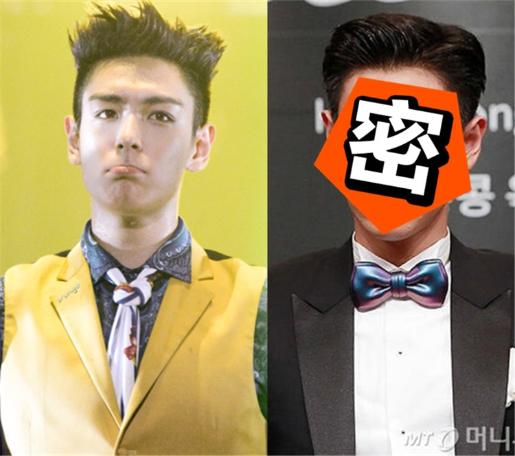 TOP挂中国粉丝后首次现身,可他的脸怎么变成了这样?