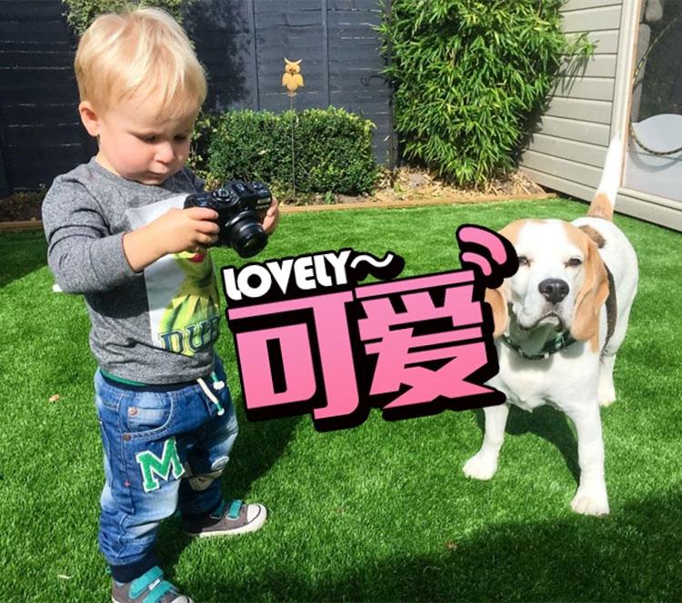 19个月大的儿子沉迷于摄影!这就是别人家的孩子