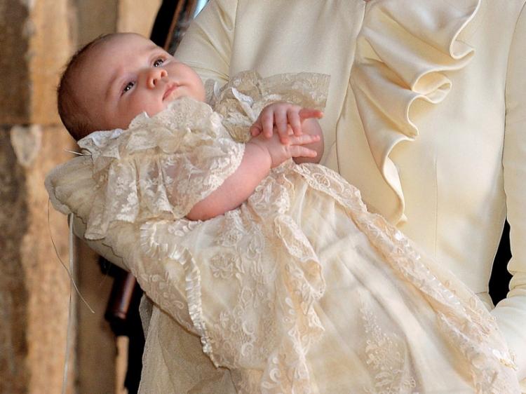 做一名皇室不易,从零岁开始被囧,乔治王子最囧瞬间