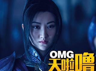 景甜再次开挂,《长城》番位居第二,刘德华张涵予都在她后面!