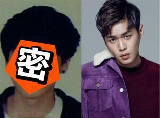 张若昀中学时竟然风靡全校,不过他怎么越长大眼睛越小了...