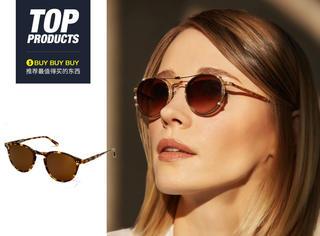 """【买买买】除了""""书呆子墨镜"""",你还应该试试这款小众复古眼镜!"""