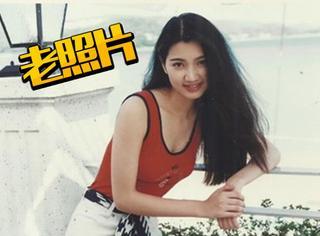 【老照片】张丹峰的爱妻洪欣年轻时竟然这么美!
